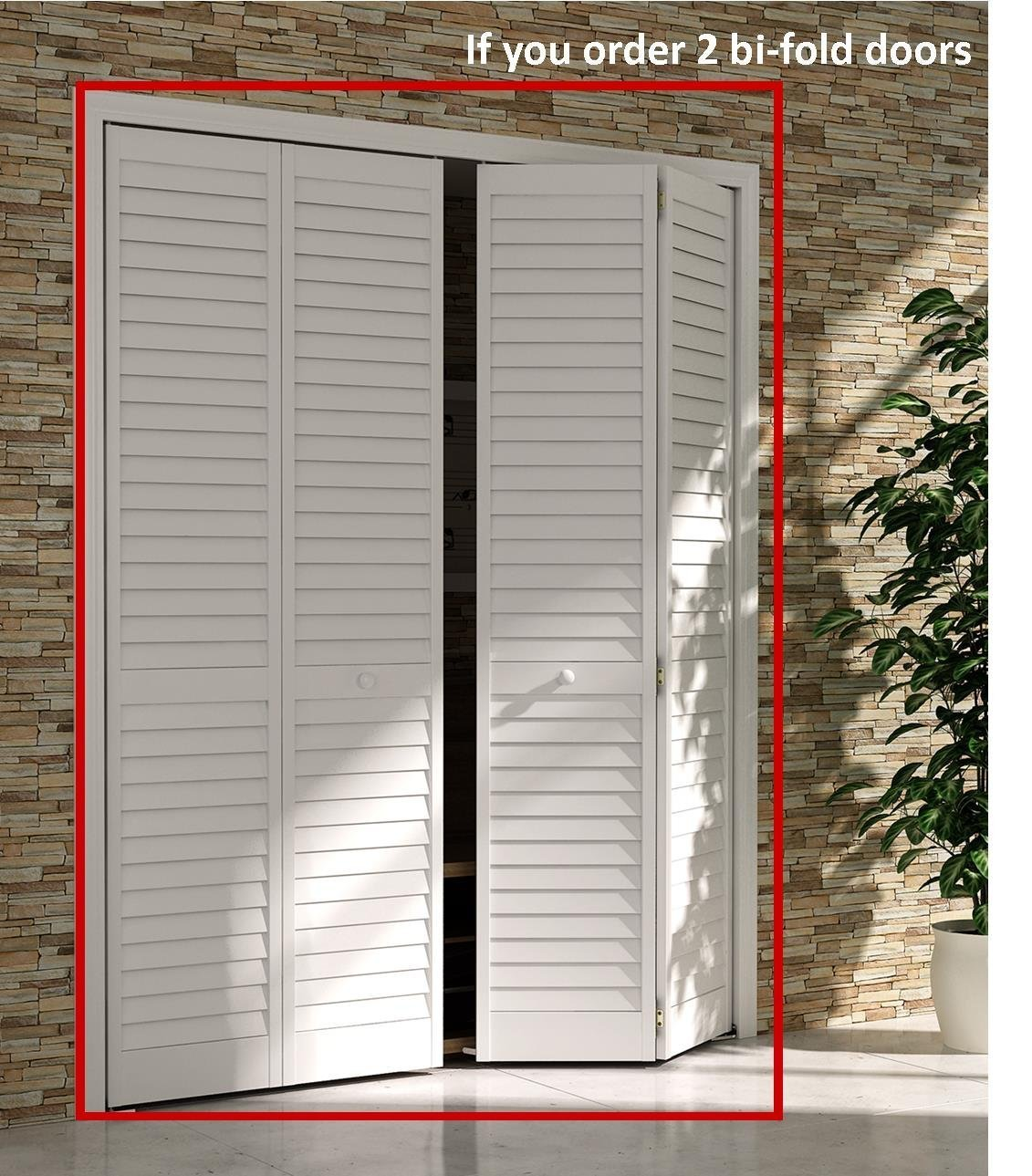Amazon Bi Fold Closet Door Louver Louver Plantation White