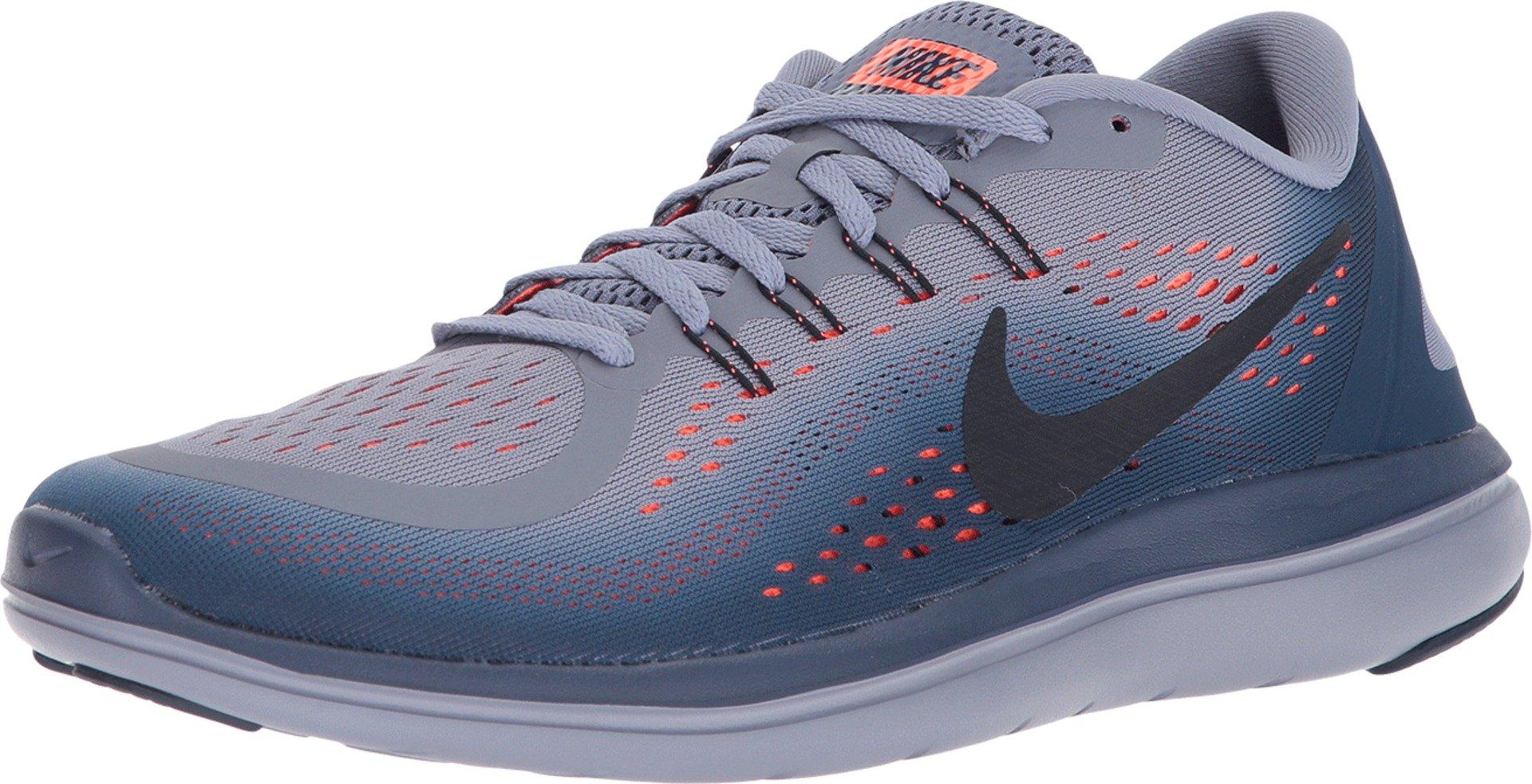 1e3541f341e14 Nike Men's Flex RN 2017 Running Shoe Dark Sky Blue/Dark Obsidian/Navy Size  14 M US