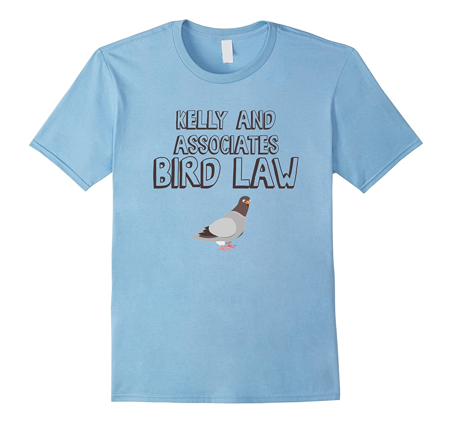 Kelly and Associates - Bird Law Tee Shirt-Art