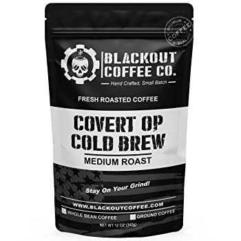Blackout Coffee Covert Op Cold Brew Italian Coffee Beans