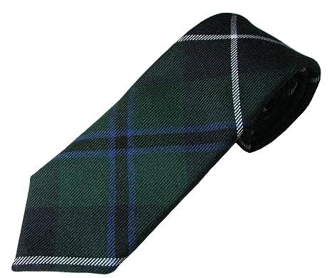 Lochcarron de Escocia Douglas moderno de corbata de tartán: Amazon ...