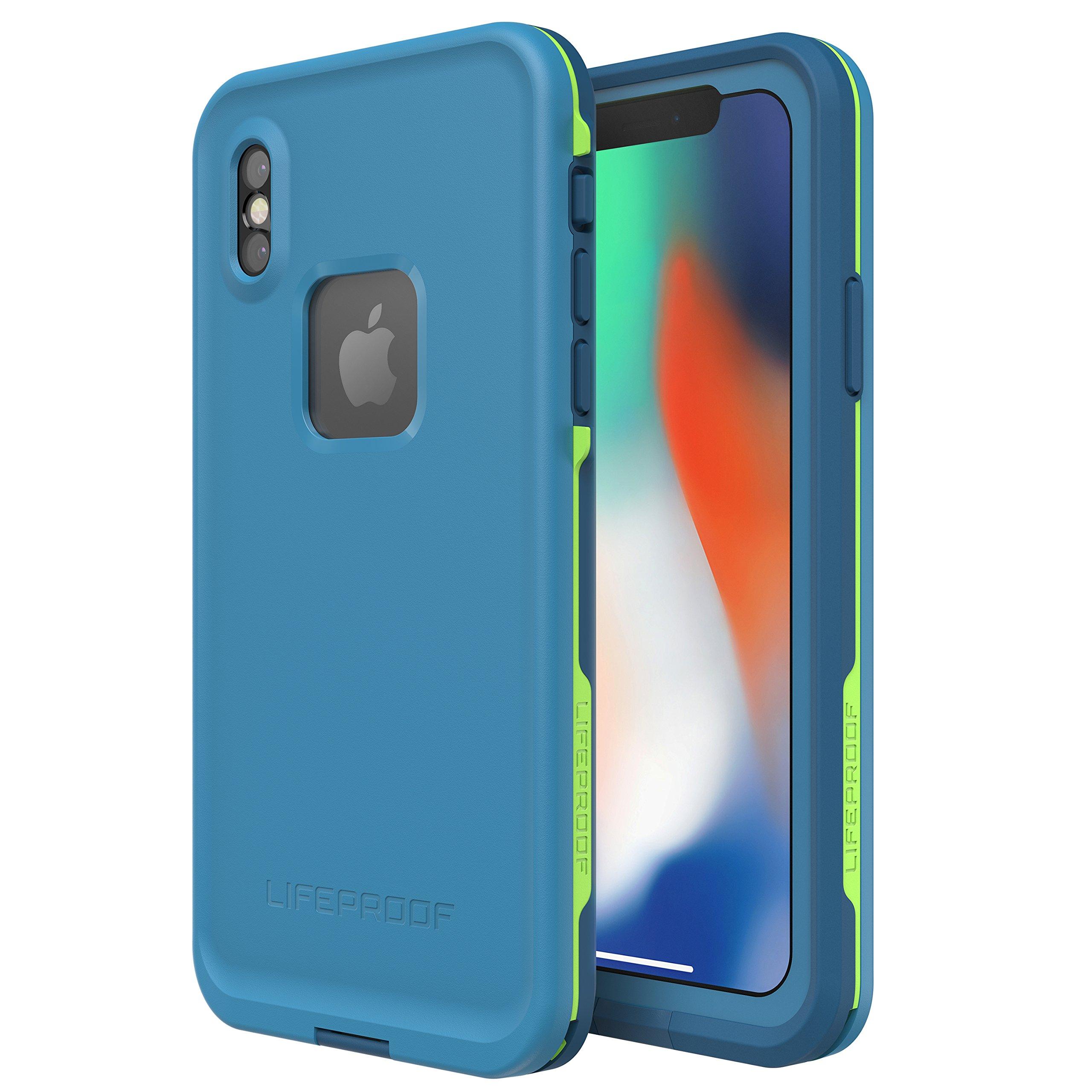 Lifeproof FRĒ SERIES Waterproof Case for iPhone X (ONLY) - Retail Packaging - BANZAI (COWABUNGA/WAVE CRASH/LONGBOARD) by LifeProof