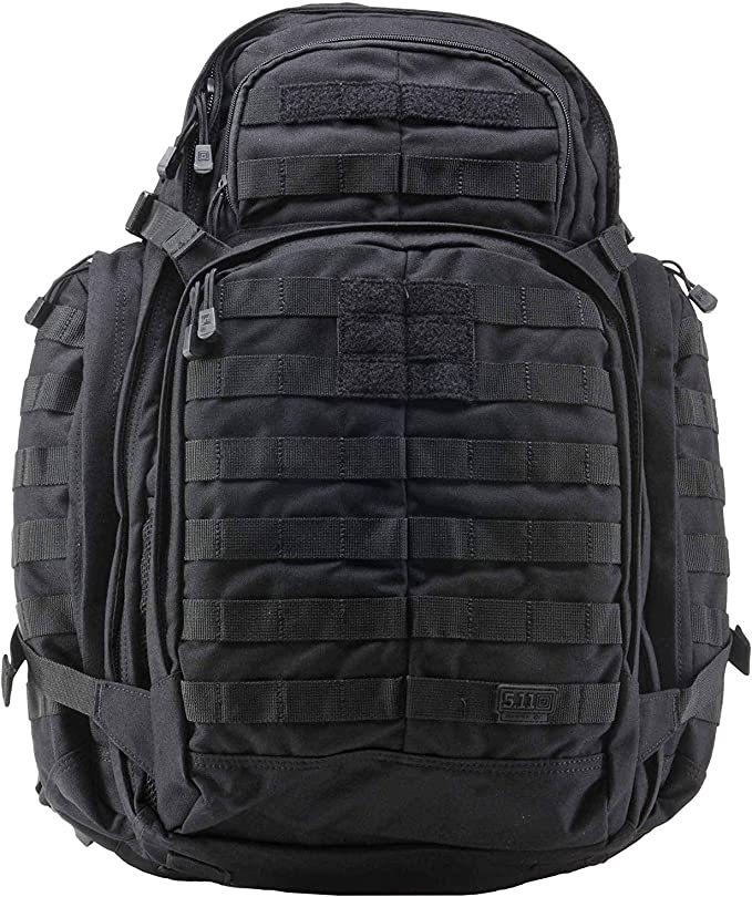 best range bags: 5.11 Tactical RUSH72 Military Backpack, Molle Bag Rucksack Pack, 55 Liter Large, Style 58602