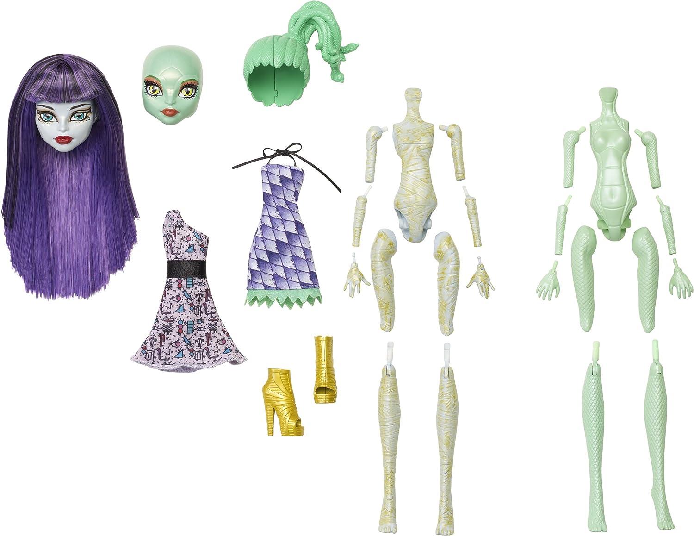 Amazon.es: Monster High Y0416 - CREA tu Monstruo, Accesorios para muñecas: Juguetes y juegos