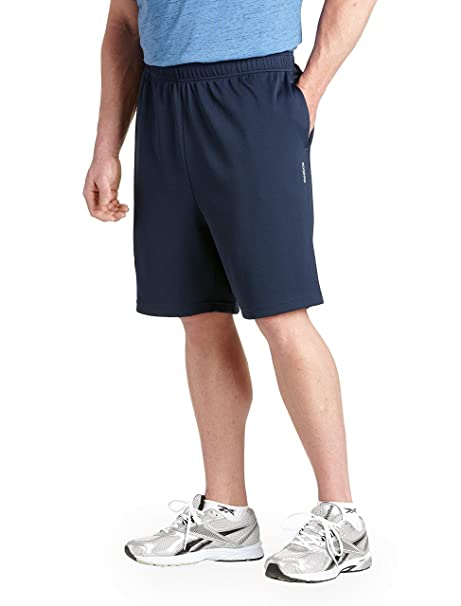 Reebok Big & Tall Play Dry Tech Mesh Shorts