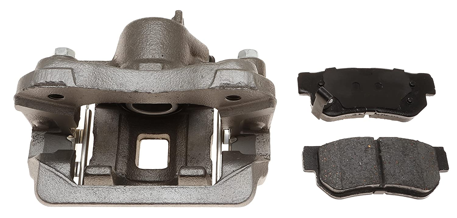 Loaded Remanufactured ACDelco 18R12340 Professional Rear Disc Brake Caliper Assembly with Pads