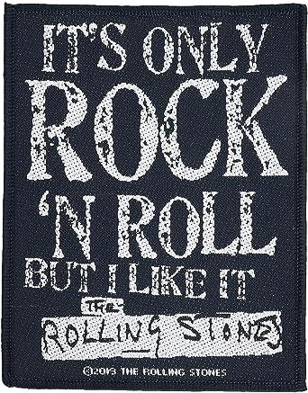 The Rolling Stones Patch Us Flag Tongue Band Logo Nouveau Officiel Iron On