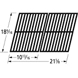 Music City Metals 64182 Matte Cast Iron Cooking Grid Replacement for Select Cuisinart Gas Grill Models, Set of 2