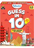 Skillmatics Educational Game : Cities Around The World - Guess in 10 (Ages 8-99) | Card Game of Smart Questions…