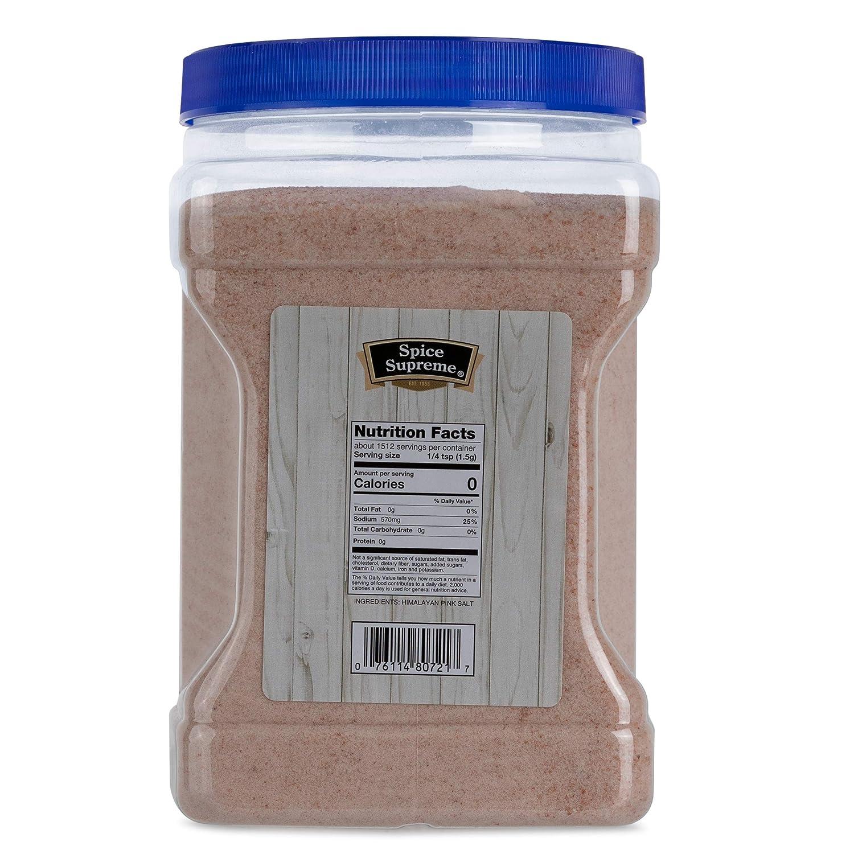 Sal de Himalaya rosa Spice Supreme puro y natural con ...