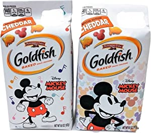 Pepperidge Farm Mickey Mouse Special Edition! Cheddar Baked Snack Crackers - 6.6oz (2 PACK)