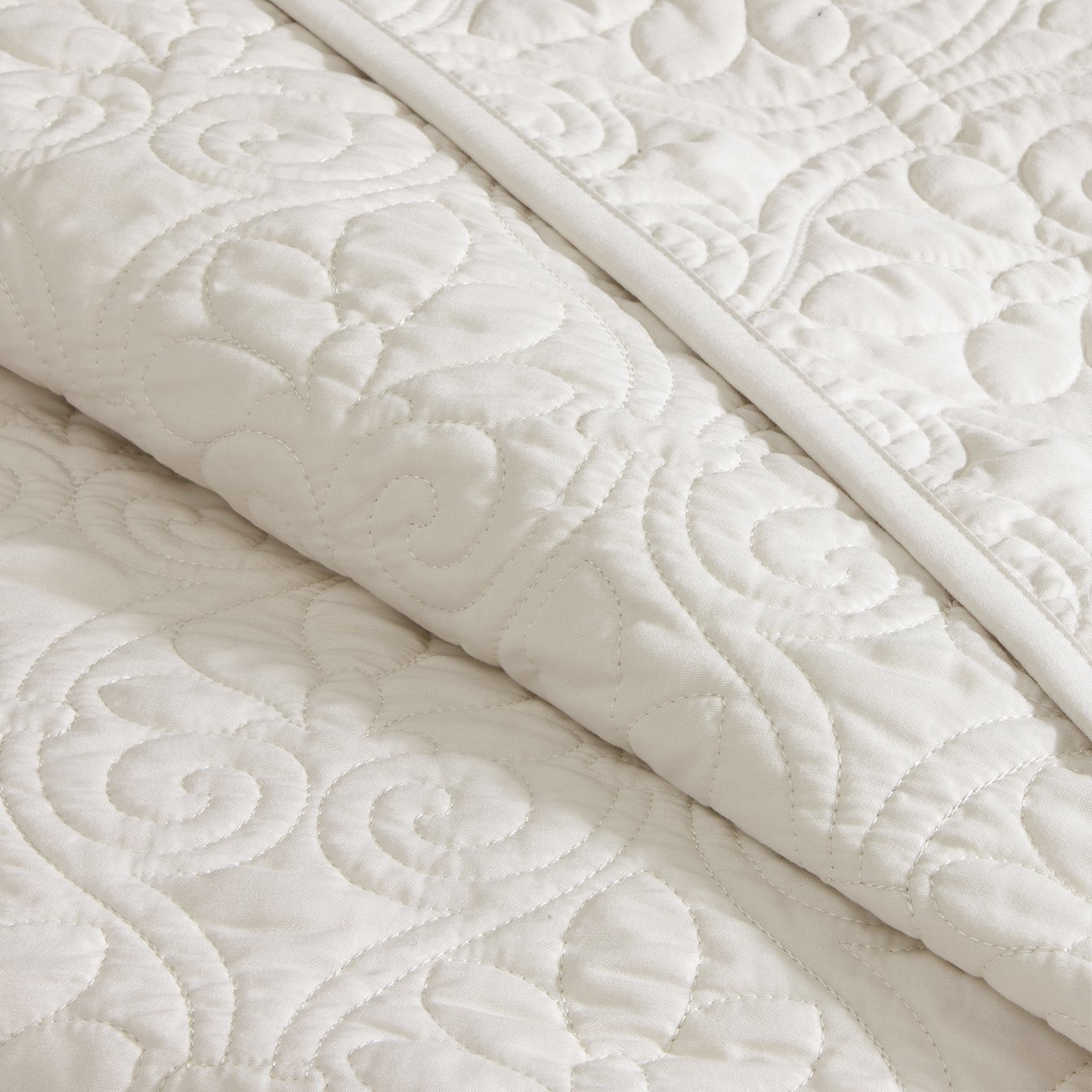 Nice Madison Park Quebec 3 Piece Bedspread Set, King, Ivory: Amazon.ca: Home U0026  Kitchen