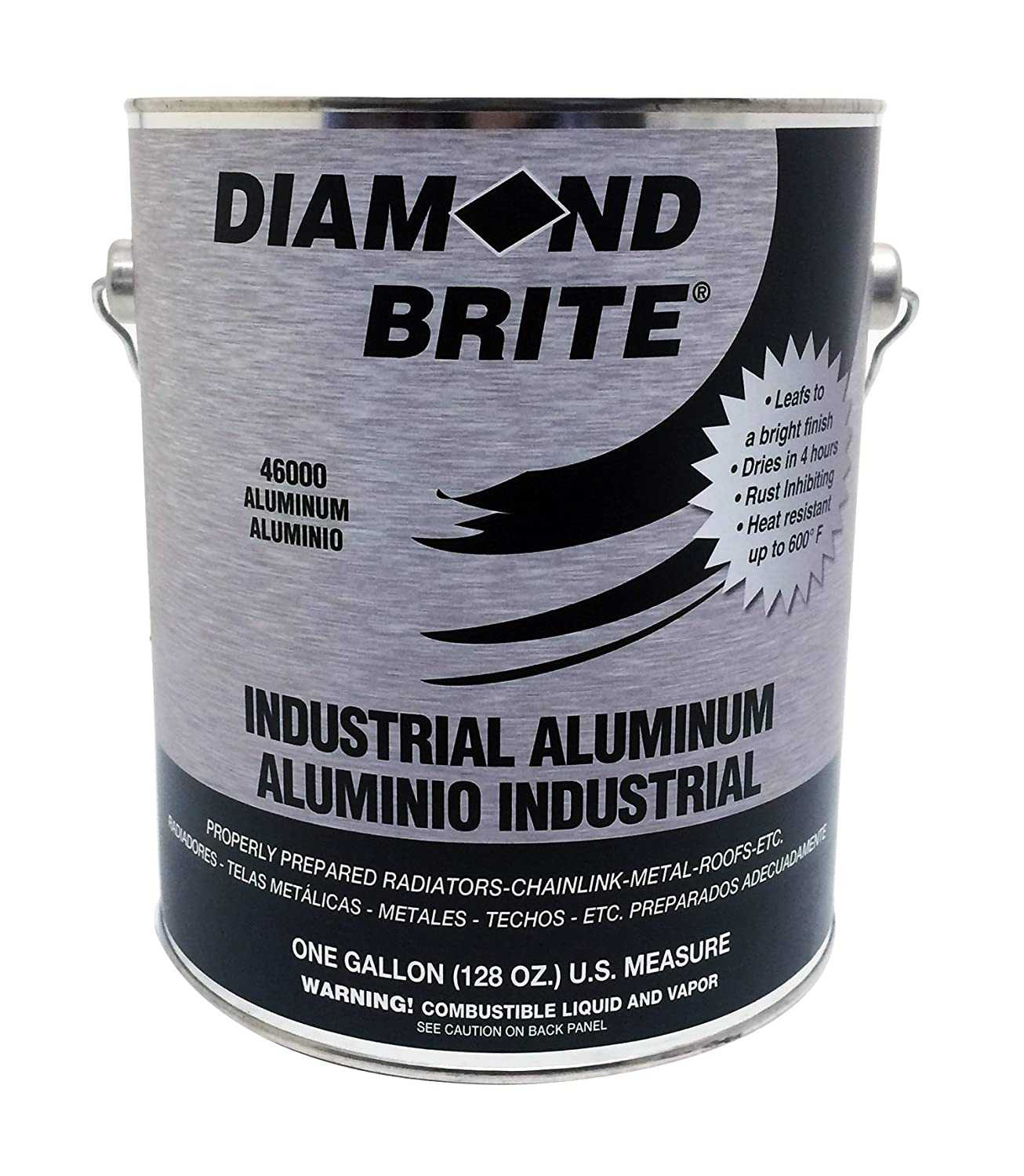 Amazon.com: Diamond Brite Paint 46000 1-Gallon Aluminum Paint: Home Improvement