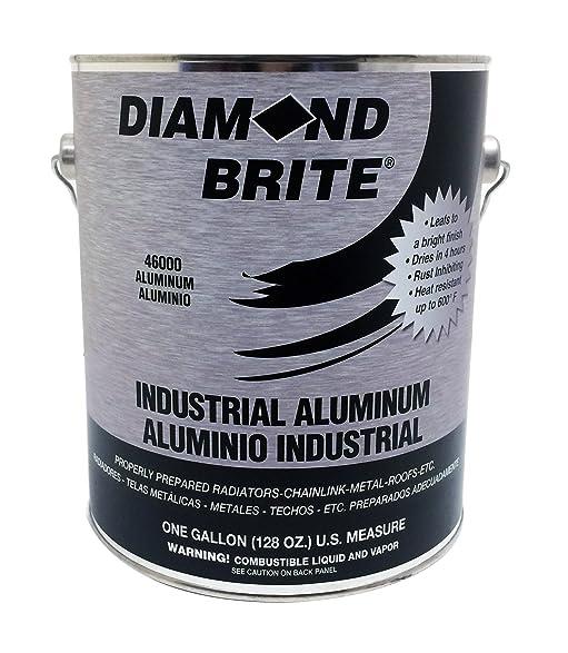 diamond brite paint 1gallon aluminum paint