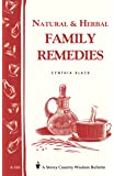 Natural and Herbal Family Remedies (Storey Publishing Bulletin, a-168)