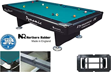 Mesa de Billar Dynamic II, 9 ft. (Soporte), Color Negro Brillante, Pool ...
