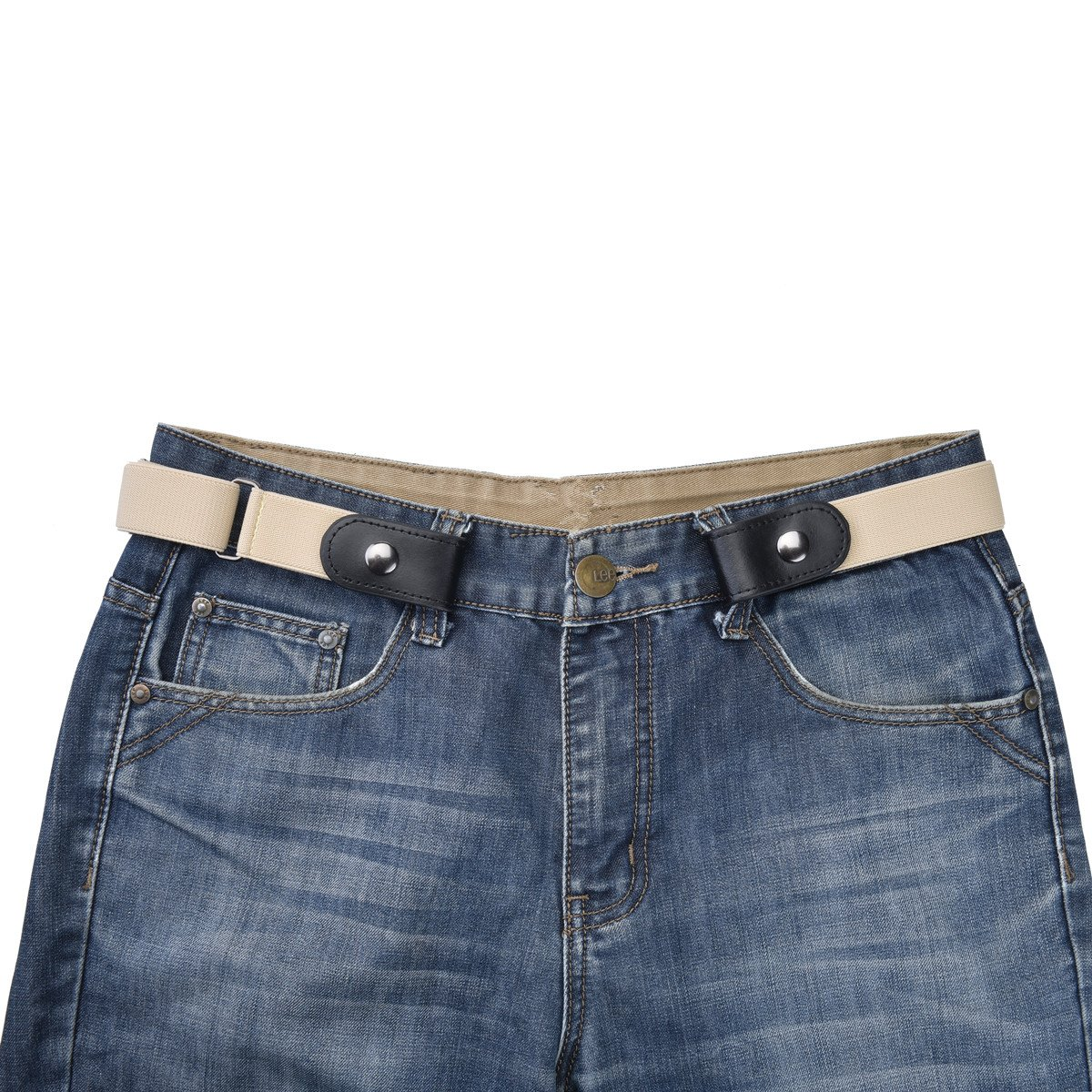 Buckle-less No Bulge Belt for Women, No Buckle and Hassle Women Invisible Belts Radmire