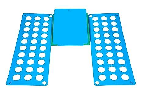 Tabla mágica plegable para doblar ropa, de la marca Hillington®, la forma más rápida y fácil de doblar la ropa para un guardarropa perfectamente organizado, ...