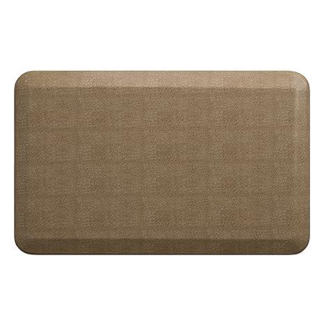"NewLife by GelPro Anti-Fatigue Designer Comfort Kitchen Floor Mat, 20x32"", Pebble"