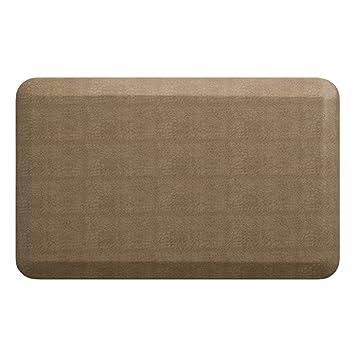 newlife by gelpro anti fatigue designer comfort kitchen floor mat 20x32 u201d pebble amazon com  newlife by gelpro anti fatigue designer comfort      rh   amazon com