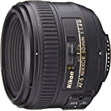 Nikon AF-S FX NIKKOR 50mm f/1.4G Lens with Auto Focus for Nikon DSLR Cameras (Certified Refurbished)