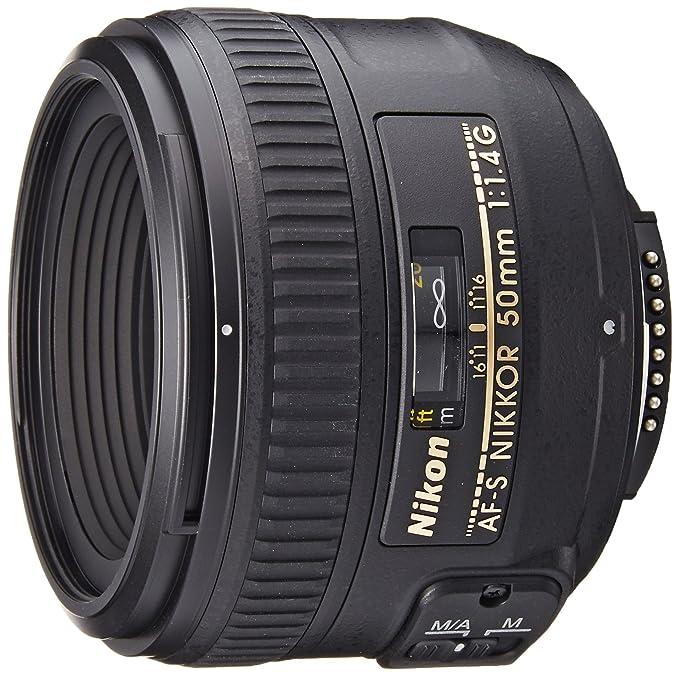 Nikon Obiettivo Nikkor AF-S 50mm 1:1,4G , Nero [Versione EU](Ricondizionato Certificato)