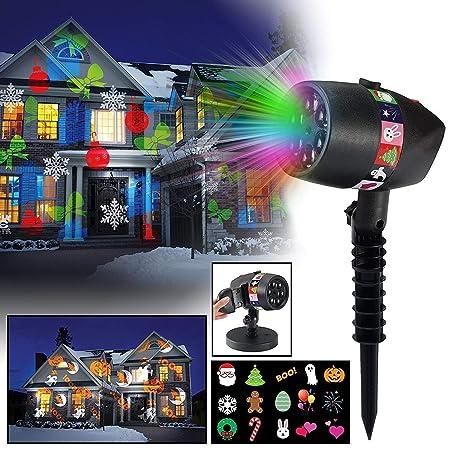 Luces de proyector de Navidad LED Luces de presentación de ...