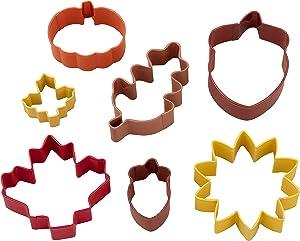 Wilton Fall Metal Cookie Cutter Set, 7-Piece