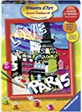 Ravensburger - 28435 - Peinture Au Numéro D'art - Grand Format - Love From Paris