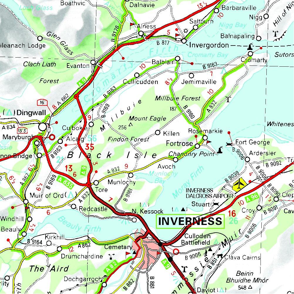 Mapa Regional Scotland (ESCOCIA) (Carte regionali): Amazon.es: MICHELIN: Libros en idiomas extranjeros