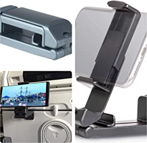 in Flight Cell Phone Media Holder for Travel, Home Workstation, Desk, and Gym Workouts
