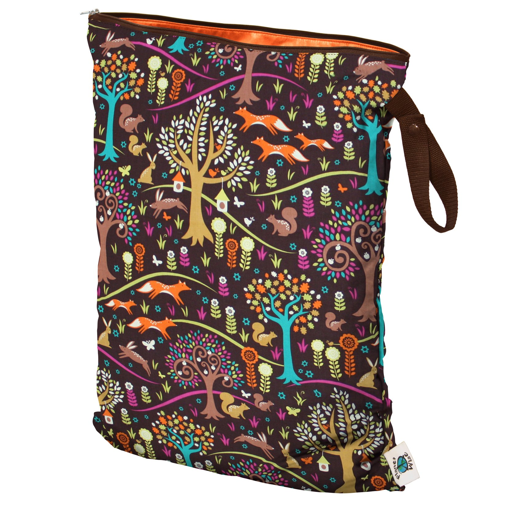 Planet Wise Wet Bag, Large, Jewel Woods (Made in the USA) by Planet Wise