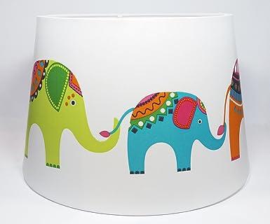 kids ceiling lighting. elephant lampshade ceiling light shade or floor lamp childrenu0027s kids girls baby toddler nursery bedroom lighting