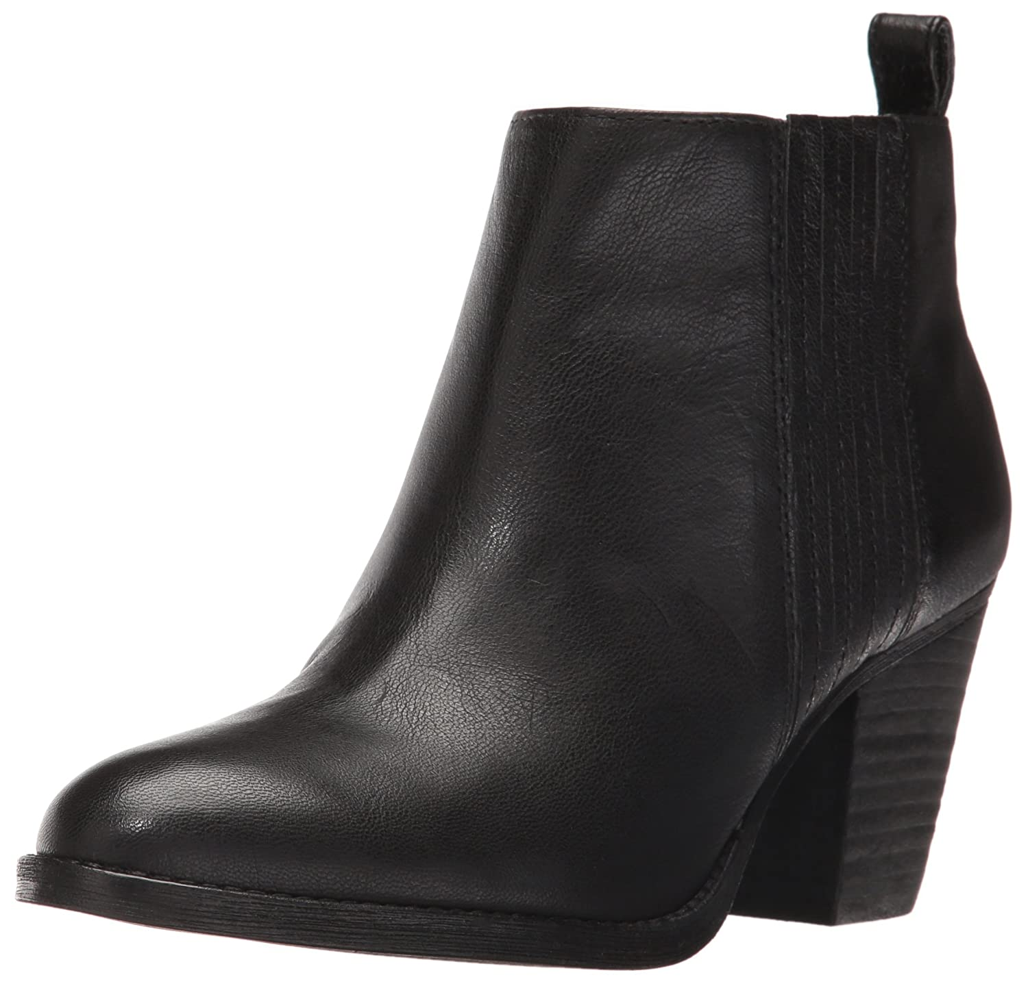 Nine West Women's Fiffi Ankle Bootie B01EWYHCVE 8.5 B(M) US|Black Leather