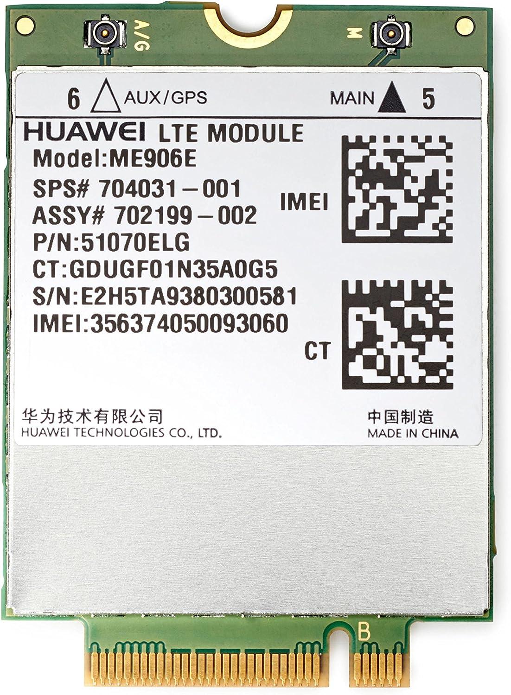 HP lt4112 LTE/HSPA+ W10 WWAN - Dispositivo de Internet móvil (HSPA+,LTE, 42 mm, 30 mm, 2,3 mm, 6 g, Windows 8.1 Windows 10)