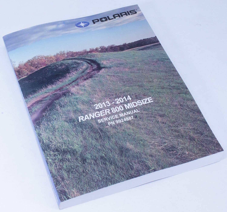 Amazon.com: New Oem Service Shop Manual 2014 Polaris Ranger 800 Efi Midsize  9924887: Automotive
