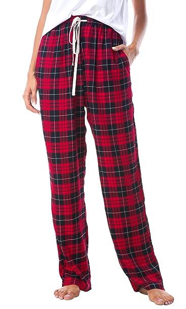 EEVASS Mujer Verano Pantalones de Pijama de Cuadros Suave Nightwear Bottoms: Amazon.es: Ropa y accesorios