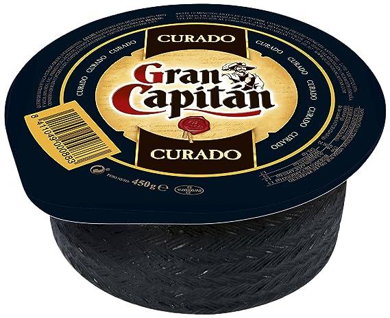 Gran Capitán Curado - Queso Mini de oveja y vaca, 450 g ...