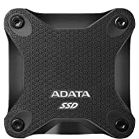 ADATA SD600Q 960GB Military Grade Light Compact Portable External SSD Solid State Drive (Black)