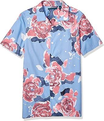 Perry Ellis Mens Big and Tall Blossom Print Shirt