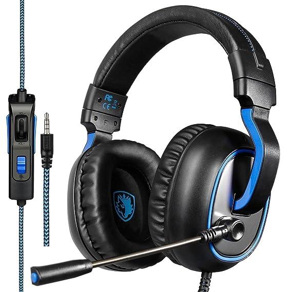 Xbox One PS4 Gaming Headsets, Sades R4 Auriculares Gaming ...