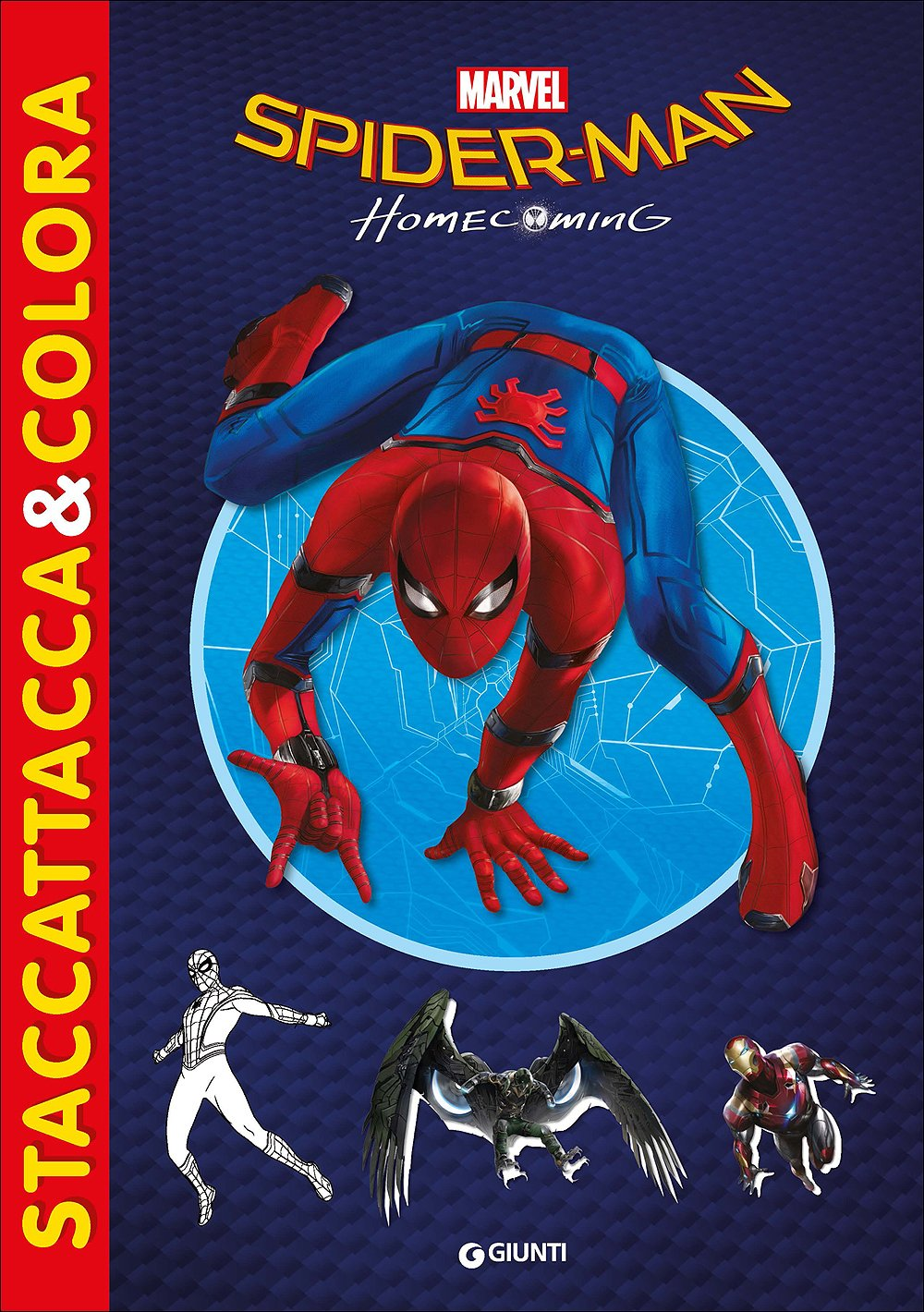 Amazon It Spider Man Homecoming Staccattacca Colora Con
