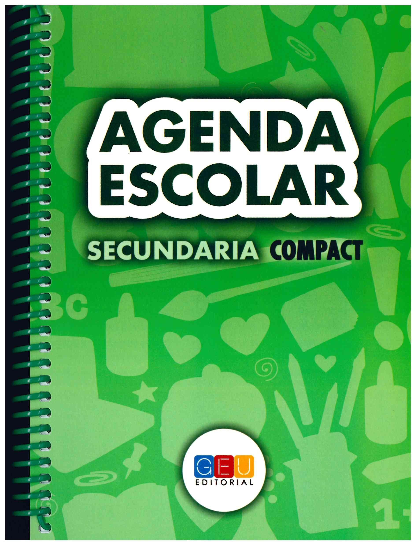 Agenda Escolar 2016/2017. Secundaria Compact Espiral - 8436548131548: Amazon.es: G.E.U.: Libros