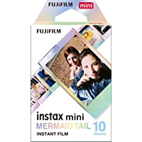 instax 16648402 Fujifilm Mini Mermaid Tail Film- 10 Exposures