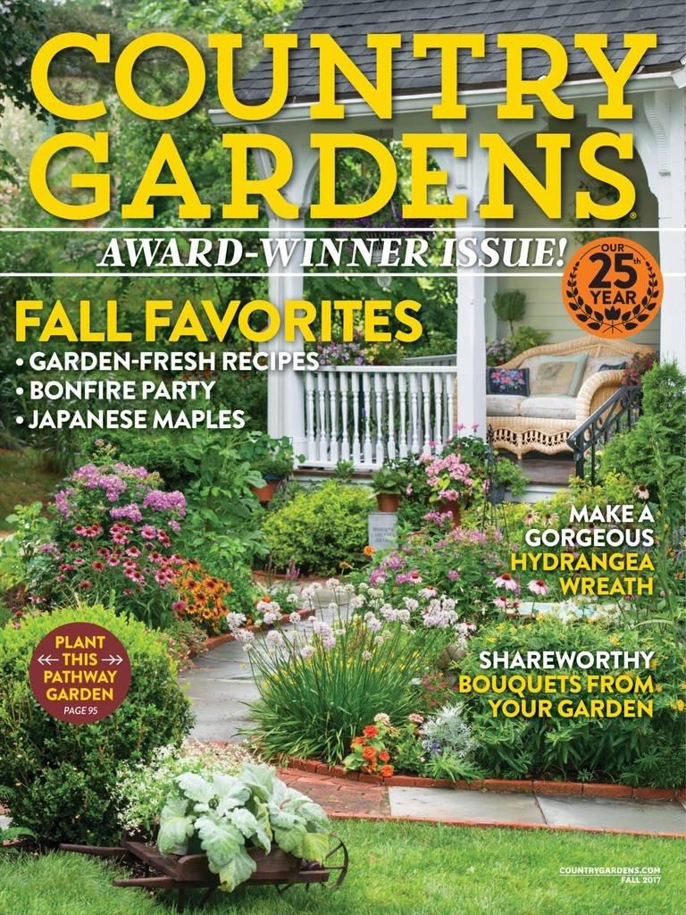 country gardens amazon com magazines
