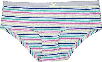 c02b51a0b14c Jenni by Jennifer Moore Striped Cotton Hipster Panty