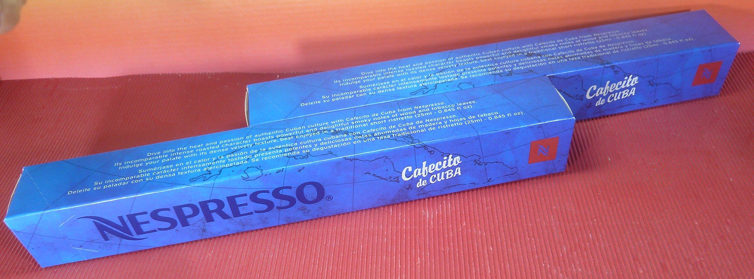 NESPRESSO CAFECITO DE CUBA 2 SLEEVES INTENSITY 10,FRESH by Nespresso (Image #1)