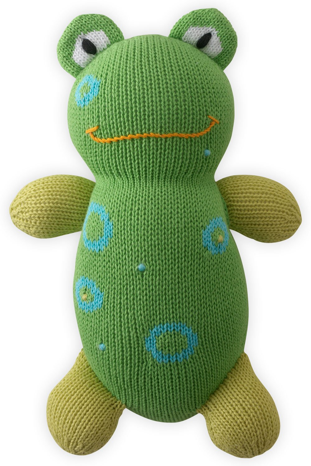 Joobles Fair Trade Organic Stuffed Animal - Flop the Frog by Joobles
