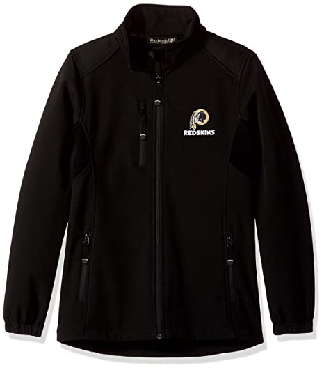 new concept 5fafd 94f4f Dunbrooke Apparel NFL Washington Redskins Men's Softshell Jacket, Large,  Black