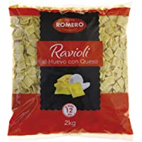Romero, Ravioli Queso Granel - 4 bolsas
